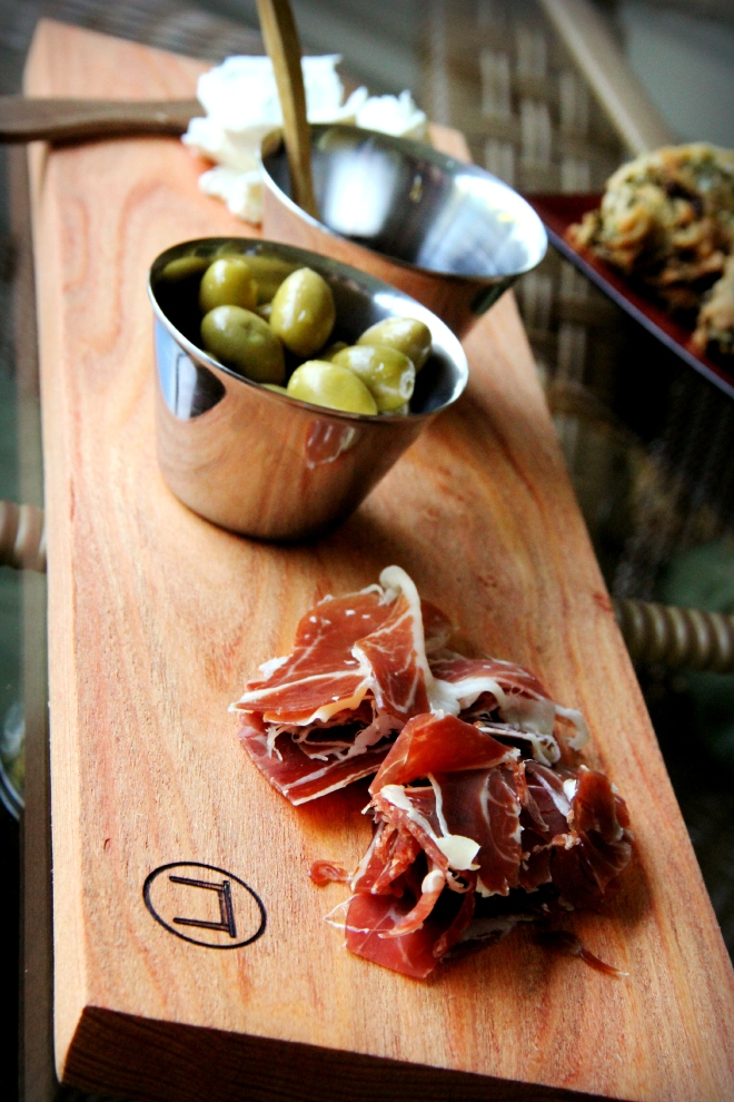 A cheese and charcuterie board is a perfect summer time dinner!