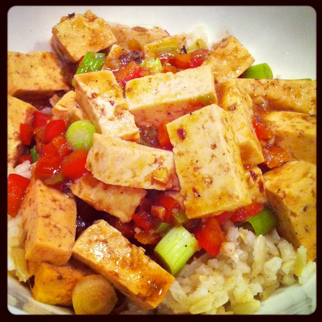 My first attempt at Mapo Tofu last year.  Love those Szechuan peppercorns!