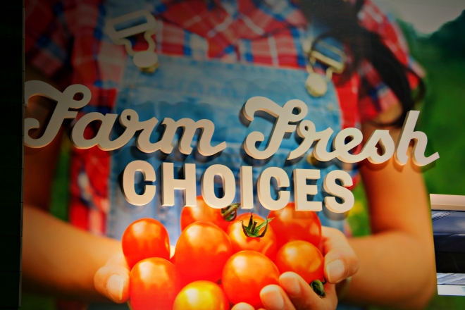 Organic, local, and regional produce are some of the options at Earth Fare.